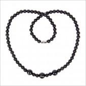 泗滨砭石项链 5mm3圆珠