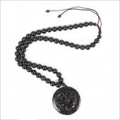 泗滨砭石项链 10mm螭龙