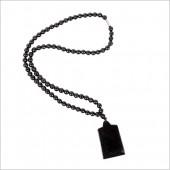 泗滨砭石项链 5mm配铲形