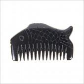 泗滨砭石梳子 高档礼品梳-鱼形梳